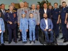 Герой России Вячеслав Воробьев принял участие в презентации фотовыставки «Герои среди нас»