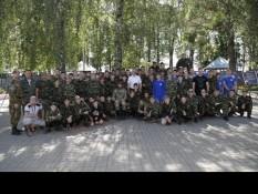 В лагере «Феникс» прошла встреча с Героем РФ Вячеславом Воробьевым