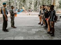 Члены Белгородского «БОЕВОГО БРАТСТВА» провели занятие для молодежи