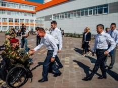 Руководитель Белгородского отделения «БОЕВОГО БРАТСТВА» встретился с врио губернатора Курской области