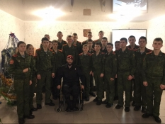 Вячеслав Воробьев встретился с курсантами ВПК Нового Оскола