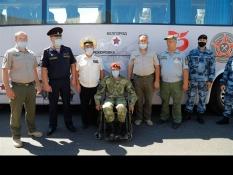 IV ежегодный бронепробег «Дорога мужества» с участием В.М.Воробьева