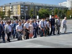 Председатель «БОЕВОЕ БРАТСТВО» принял участие в митинге «Не меркнет летопись Победы!»