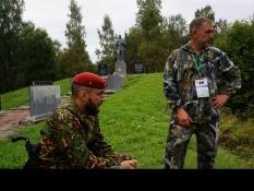Вячеслав Воробьёв побывал в гостях у военно-исторической экспедиции «Западный фронт. Варшавское шоссе»