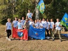 Два военно-патриотических клуба представили Белгородскую область в соревнованиях «Тропа «БОЕВОГО БРАТСТВА»