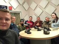 Вячеслав Воробьев в радиопрограмме