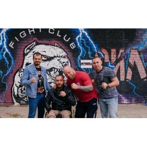 Открытие нового зала в клубе единоборств Сила Духа с участием Вячеслава Воробьева и Джефа Монсона