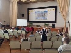 Встреча школьников с Героем России Вячеславом Воробьевым