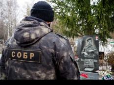 Белгородские росгвардейцы почтили память офицера СОБР Геннадия Мишенина