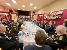 Владимир Коротких на встрече врио губернатора с ветеранскими организациями
