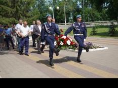 Курсанты «СЕВЕР» приняли участие акции