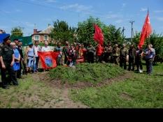 В Белгороде перезахоронили останки 47 советских солдат
