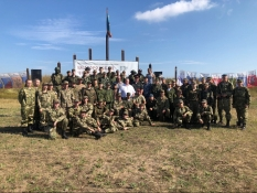 Учебно-полевой выход курсантов семи военно-патриотических клубов